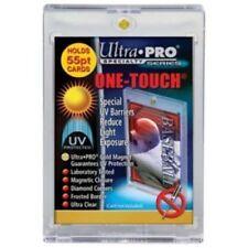 (4)  Ultra Pro Magnetic One Touch Combo Card Holders UV 55pt,100pt,130pt,180pt
