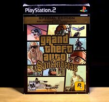 Grand Theft Auto: San Andreas Special Edition (PlayStation 2, Ps2) Complete!