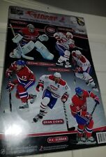 NHL 2011 Team Fat Head Montreal Canadiens - various mini players