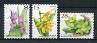 Taiwan 2018 MNH Orchids Part I 3v Set Flora Flowers Plants Nature Stamps