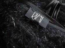 RIMI BlkSilverThreadHighLitesDbleVneckShortParty Size10