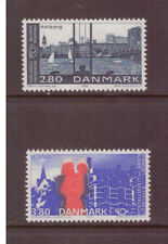 Denmark MNH 1986 Architecture,Nordic Cooperation Issue set mint stamps