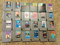 Nintendo Entertainment System NES MEGA LOT 24 Games  CHOOSE -TESTED