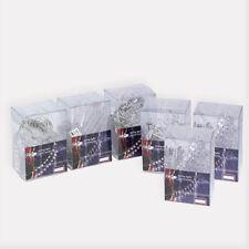 Catena Luci di Natale 10 LED Arredamento Natalizio Box PVC 6 Modelli Assortiti