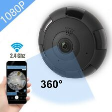 IP Camera 360 WIFI 1080P Outdoor Indoor Dome Camera Panoramic w/ Audio Detection