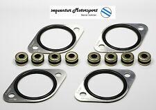Misab O-Ring Platten Set für 2 Weber 40 / 45 DCOE Doppelvergaser + Schwinggummis
