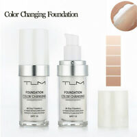 30ML TLM Color Changing Foundation Whitening Makeup Base Liquid Fundation Cream