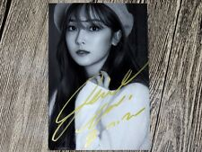 Jessica Jung Soo Yeon Autographed Photo With Love New korean freeship 05.2016 02