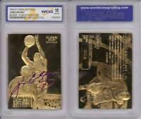 KOBE BRYANT 1996-97 Fleer ROOKIE Signature 23KT Gold Card - GEM MINT 10 RARE