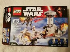 EMPTY BOX ONLY Star Wars LEGO HOTH ATTACK #75138