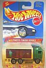 1995 Hot Wheels #335 Photo Finish Series 4/4 HIWAY HAULER Green w/Chrome 7 Spoke