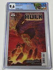 THE IMMORTAL HULK #12 CGC 9.6 Marvel Comics 3/19 1st One Below All Custom Label