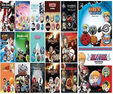 New Anime Badges Pack Death Note Dragon Ballz Tokyo Ghoul Sailor Moon Hatsune