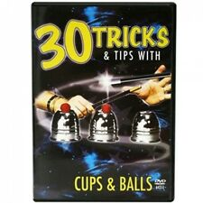 30 Tricks with Cups and Balls DVD - Includes Cups and Balls - Magic Tricks - New