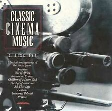 Classic Cinema Music by Various Artists (CD, Bci/brentwood Comm.)