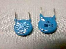 100 Draloric 3,300pF 20% 250/440V Disk Caps