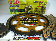 Yamaha R6 '06-16 DID 525 X-Ring Quick Accel. Supersprox Chain and Sprockets Kit