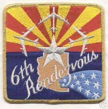 B-52 6th RENDEZVOUS  patch