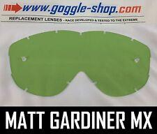 Goggle-shop Lente De Repuesto Para Spy Alloy Targa 2 Motocross Gafas Color Verde