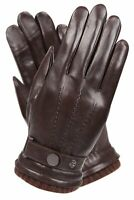 Men's Texting Touchscreen Winter Warm Nappa Leather Daily Dress Driving Gloves