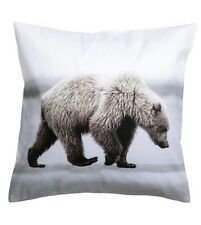 Polar Bear Photo Print Christmas Cushion Cover 40 X 40