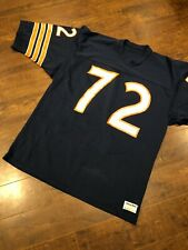 Vintage Bears #72 William Perry Refrigerator NFL Football Jersey Sand Knit