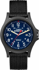 "Timex TW4999900, ""Expedition Camper"" Nylon Watch, Indiglo, Date, TW49999009J"
