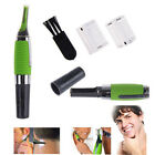 Men's Nose Ear Face Neck Eyebrow Hair Mustache Beard Trimmer Shaver Clipper AU