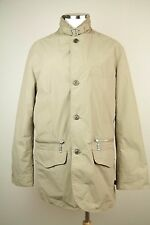 Barbour X Land Rover Mens Sand Jacket SZ M