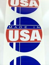 25 Made in the USA Circle Label Stickers Made in the USA eBay Labels Fragile
