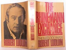 ROBERT LUDLUM The Rhinemann Exchange INSCRIBED FIRST EDITION