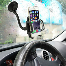 Universal 360° Rotating Car Windshield Mount Holder Stand for Mobile Cell Phones