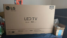 "Lg 43"" Hdtv 2017 Model Lj500M Brand New with new Fire Tv stick."