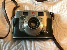 Vintage Kodak Signet 35mm Synchro 300 Shutter with leather strap