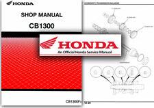 Servicio De Honda CB1300 Manual de taller reparación tienda CB 1300 F3