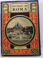 Ricordo di Roma album souvenir de Rome, 32 vues, vers 1930