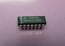 74HCT08N Quad 2-input AND gate  14 Pin DIP  -  QTY of 4 IC's