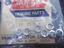 NOS YAMAHA 92903-05100 VERY SMALL LOCK WASHER LOT OF 9 VINTAGE TAIL LIGHT