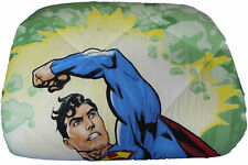 Trapunta Piumone Caleffi Disney Superman Energy Stampa 3D Letto Singolo VERDE