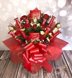 Lindt, Ferrero Rocher & Yankee Candle Chocolate Bouquet