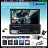 "7""1 Din Autoradio+Telecamera Bluetooth Touch Screen USB/SD/AUX/FM FM Lettore MP5"