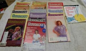 ** Vintage - WORKBASKET MAGAZINE Lot - 16 diff mags dated 1985 - 1988 ++ Bonus