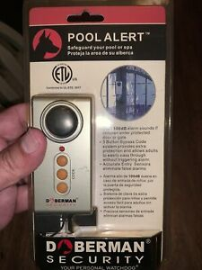Doberman Security SE-0114 Pool Alert Gate Door Entry Alarm 3 Button Bypass Code