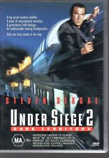 UNDER SIEGE 2 DARK TERRITORY - DVD R4 (2000) Steven Seagal LIKE NEW - FREE POST
