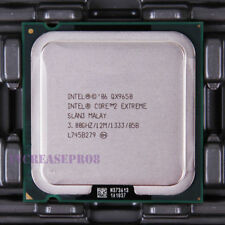 Intel Core 2 Extreme QX9650 SLAN3 SLAWN CPU Processor 1333 MHz 3 GHz LGA 775