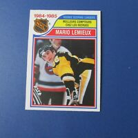 MARIO LEMIEUX 1985-86 O-Pee-Chee # 262  OPC  Pittsburgh Penguins NM/MT ++ 1986