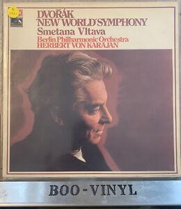 ASD 2863 Dvorak New World Symphony Smetana Vltava Karajan Berlin Philharmonic NM