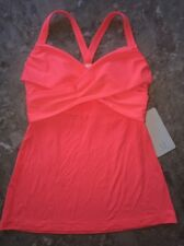 NWT Lululemon Wrap It Up Tank size 8 Grapefruit GRPF Top
