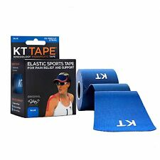 KT TAPE Original Cotton Elastic Kinesiology Therapeutic Tape 20 Pre Cut 10 Inch