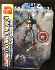 Marvel Select ZOMBIE COLONEL / CAPTAIN AMERICA *** NEW & SEALED ***